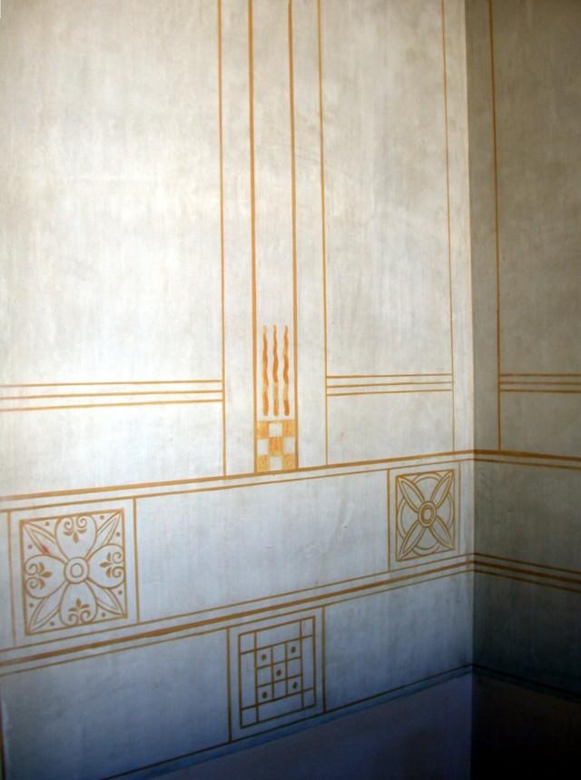 Hallway frescoe