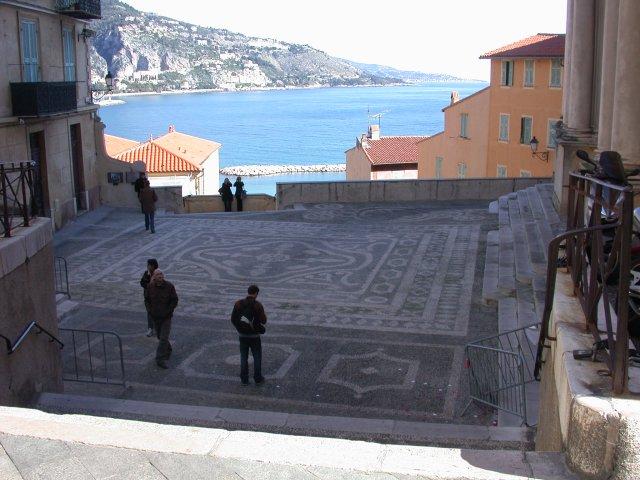 Courtyard de St Michel