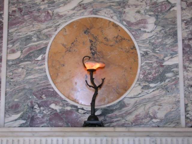 Wall lamp in the Andron