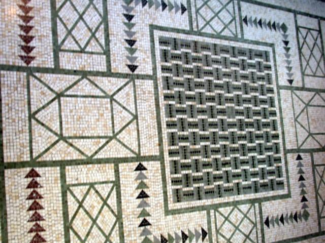 Floor mosaic - the Nikaï (bath)