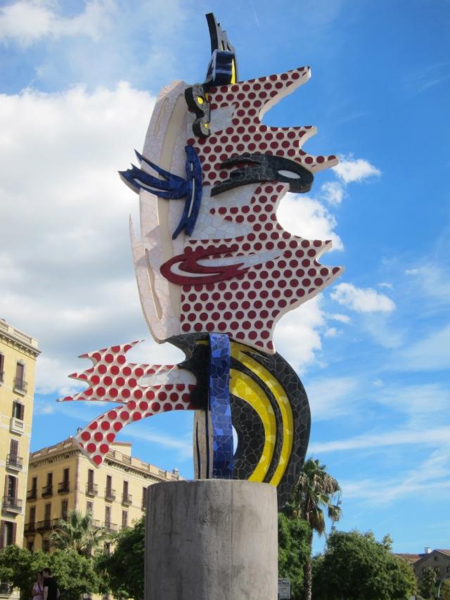 Joan Miró head